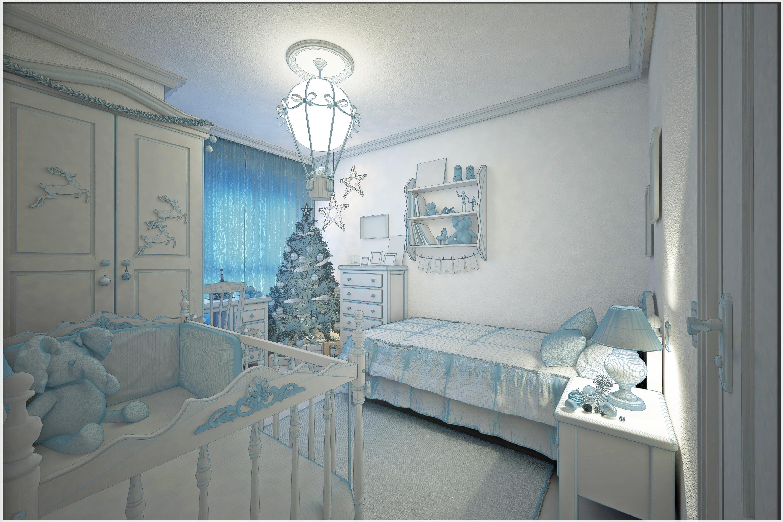 Habitación 3D base